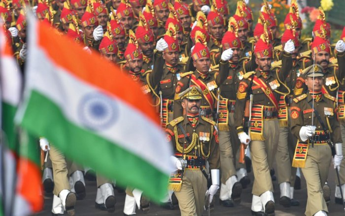 The BSF has been asked to only send its camel contingent and camel-mounted band team. (PTI File Photo)