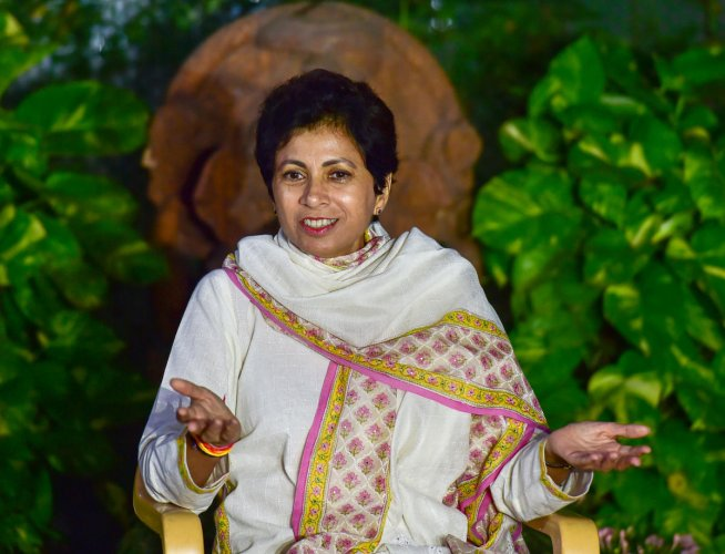 Haryana Congress president and former Union minister Kumari Selja said people would never forgive Khattar for the indecent language he used for Gandhi. PTI file photo