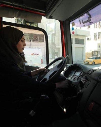 Meet Dalia al-Darawish (Photo by Twitter/Quds News Network)