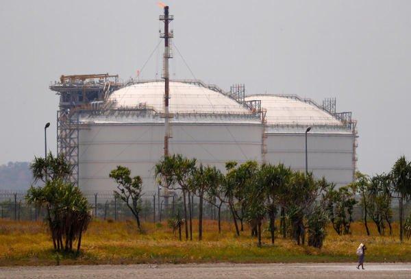 Exxon plant in Papua New Guinea. (Reuters photo)