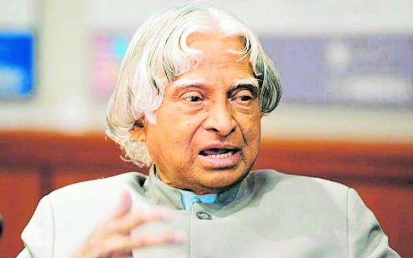 A P J Abdul Kalam.
