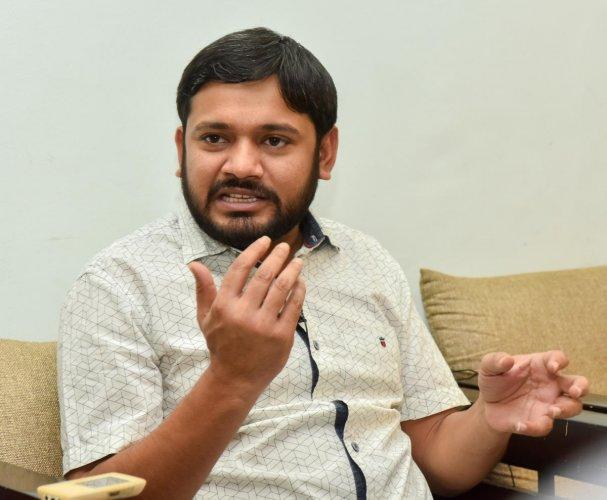 Kanhaiya Kumar. DH Photos