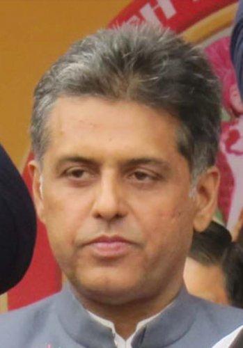 Congress spokesperson Manish Tewari