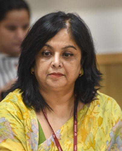 Rina Ray, Secretary, Department of School Education and Literacy. PTI Photo