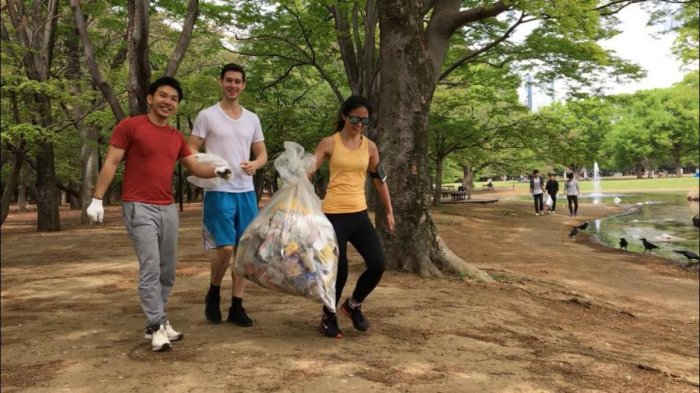 Plogging is one of the latest trends in responsible tourism today.