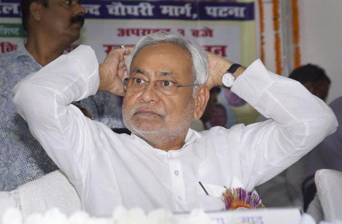 Bihar Chief Minister Nitish Kumar (PTI Photo)