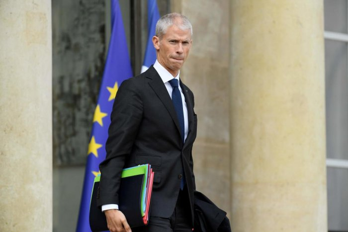French Culture Minister Franck Riester. (Photo AFP)