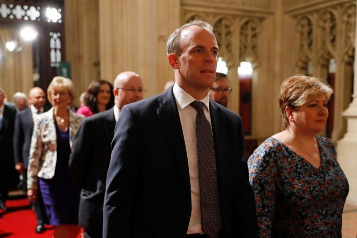"""""""We will keep our defence exports to Turkey under very careful and continual review,"""" Foreign Secretary Dominic Raab said in a statement to parliament. AFP"""