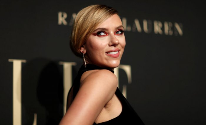 Scarlett Johansson attends the 26th annual ELLE Women in Hollywood in Los Angeles, California, U.S., October 14, 2019. (Photo by Reuters)