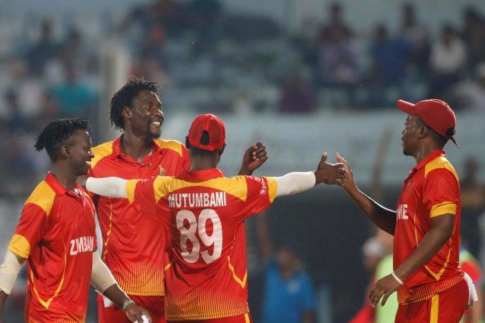 Zimbabwe cricket team (AFP Photo)
