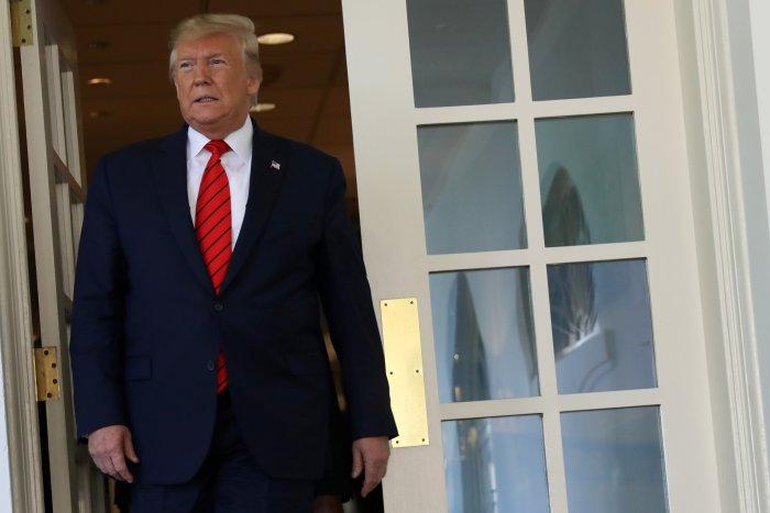 US President Donald Trump. (Reuters Photo)