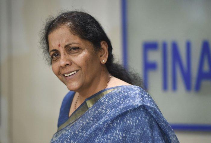 Finance Minister Nirmala Sitharaman. (PTI Photo