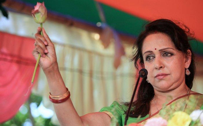 Hema Malini. (PTI Photo)