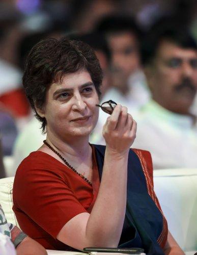 Congress General Secretary Priyanka Gandhi. (PTI Photo)