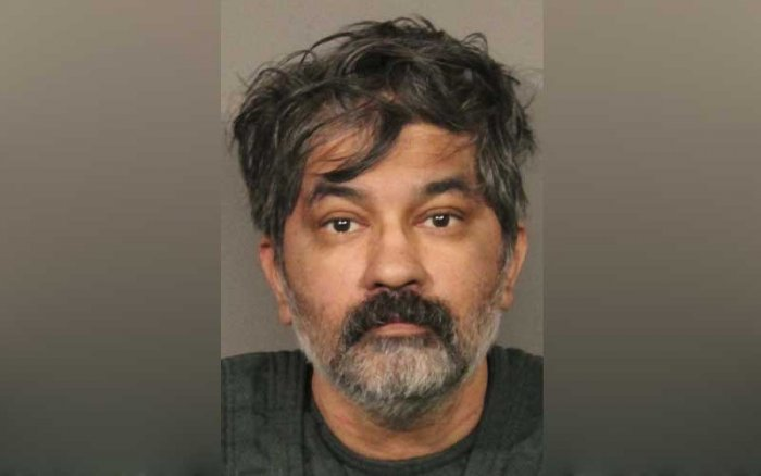 This photo released Tuesday, Oct. 15, 2019, by the Roseville Police Department, shows Shankar Hangud, who police in Northern California have identified as the suspect who they say showed up at a police station with a dead body in his car and confessed to killing that person and another three members of a family. (AP/PTI)