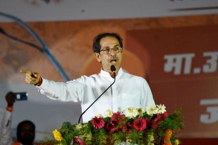 Shiv Sena chief Uddhav Thackeray (PTI Photo)