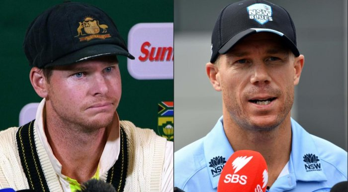 Smith and Warner reportedly carry a reserve price of 125,000 pounds. AFP file photo
