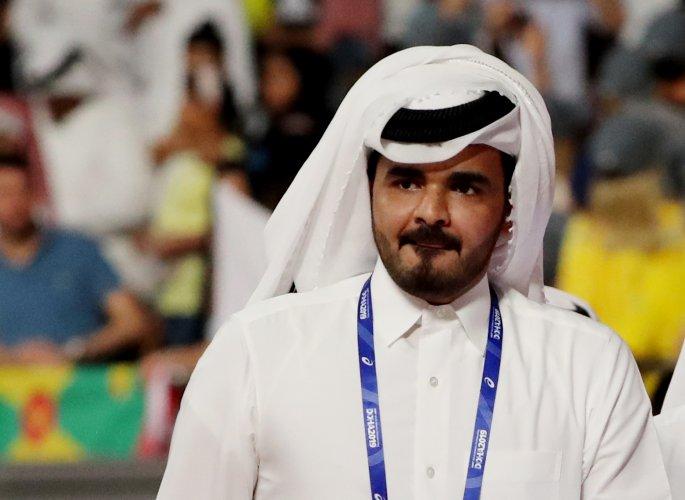 Sheikh Joaan bin Hamad Al Thani, President of the Qatar Olympic Committee. (Reuters Photo)