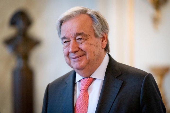 Antonio Guterres, Secretary-General of the United Nations. Reuters photo