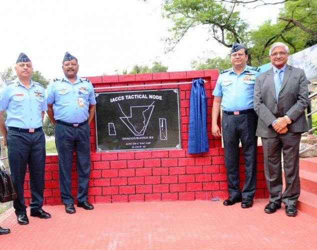 A node of the Integrated Air Command and Control System (IACCS) was declared as operational in the city by the Indian Air Force. (PTI Photo)