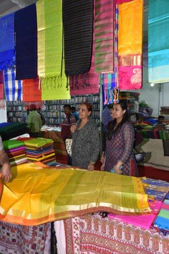 Khadi textile, (Image for Representation)