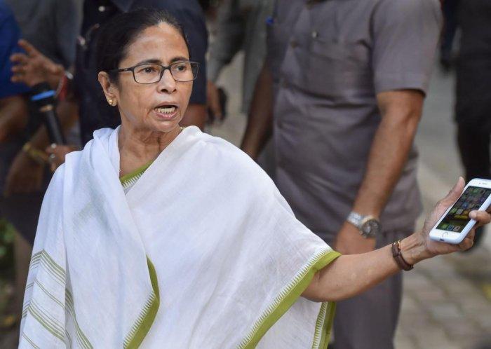 West Bengal Chief Minister Mamata Banerjee. PTI Photo