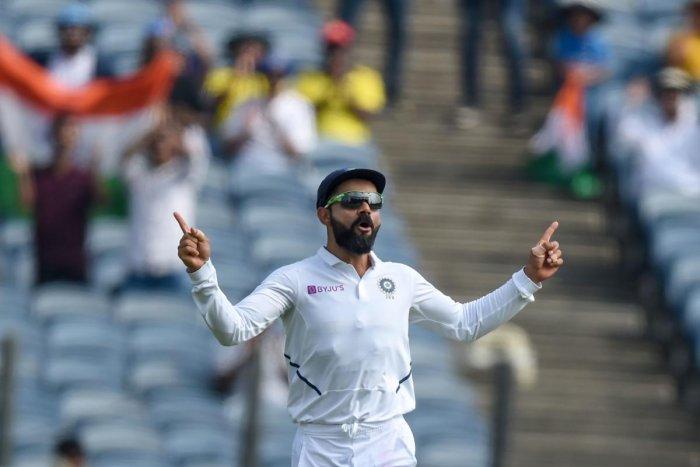 India's captain Virat Kohli. AFP Photo