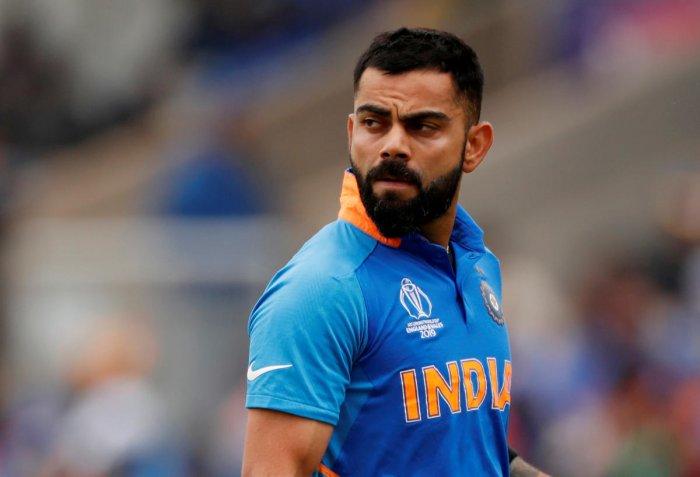 Indian cricket team captain Virat Kohli (REUTERS Photo)