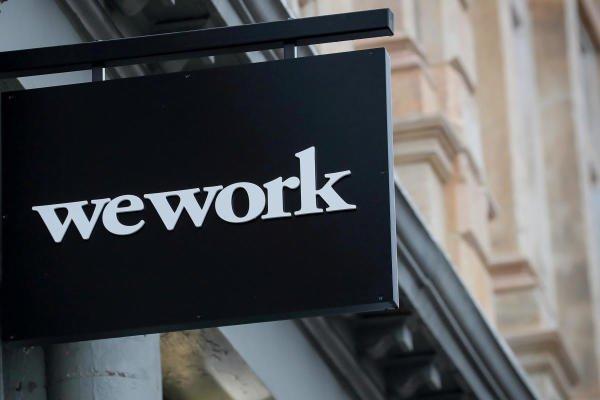 WeWork logo. (Reuters photo)