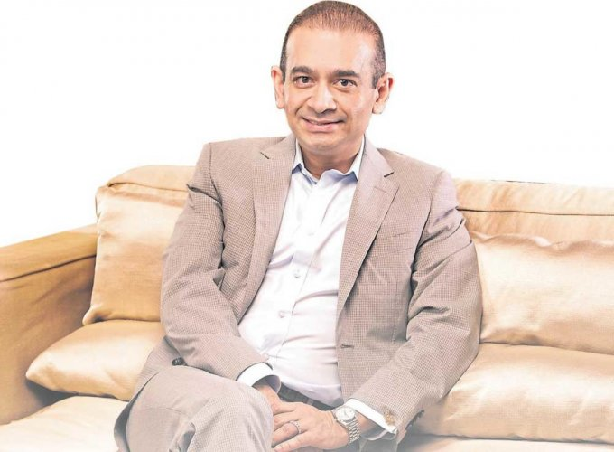 Fugitive diamond trader Nirav Modi, who is fighting extradition to India on charges over the nearly USD 2 billion Punjab National Bank (PNB) fraud and money laundering case. (DH File Photo)