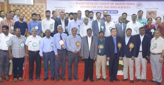 The Rajarajeswari Group of Institutions held an interaction between industry leaders and students in Bengaluru last week. SPECIAL ARRANGEMENT