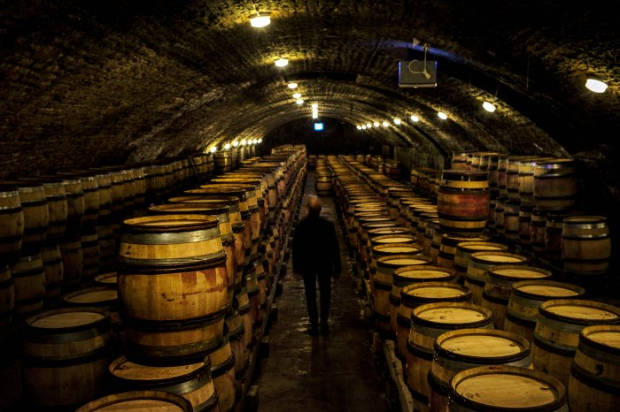 Bourgogne (Burgundy) wine region expects to be impacted by the new 25% tariff on French wine imports decided by Washington in retaliation for state subsidies for planemaker Airbus. (AFP Photo)