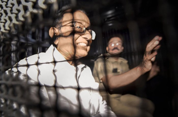Congress leader and former finance minister P Chidambaram. PTI Photo