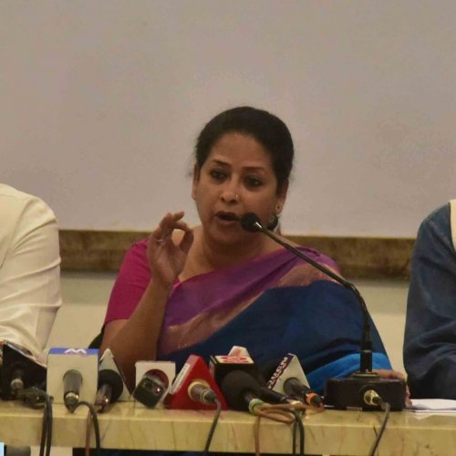 Congress spokesperson Sharmistha Mukherjee. (Twitter)