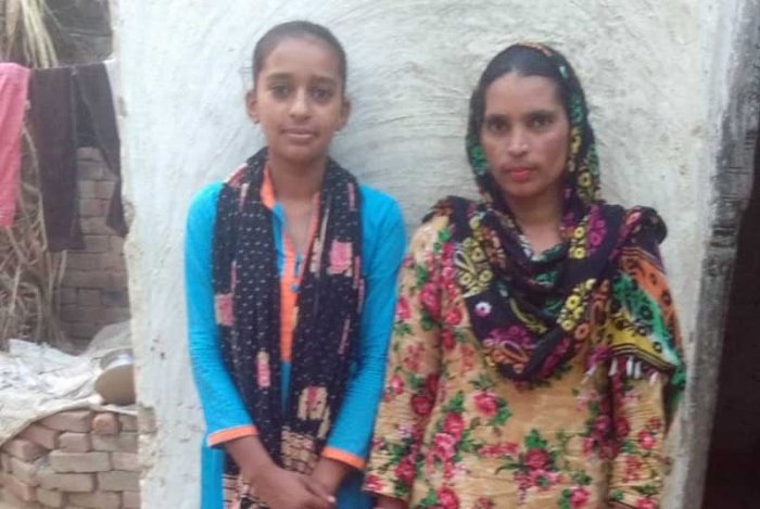 Iqra, a former child laborer and daughter of daily wage labourers, whose persistent efforts saw their school receive an electricity connection a year ago, just a day ahead of Diwali.