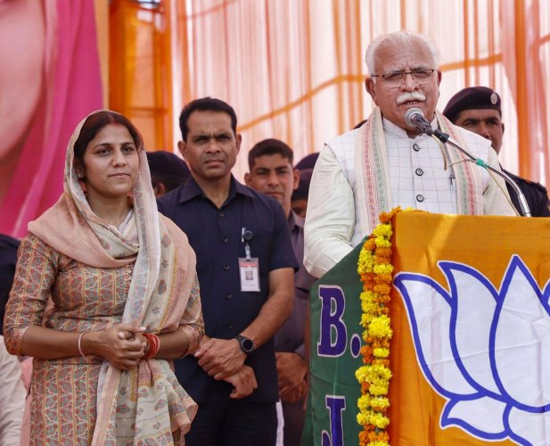 Confident of returning to power for a second term in office, Khattar said his government ran the state untainted by corruption or bias towards any caste. PTI