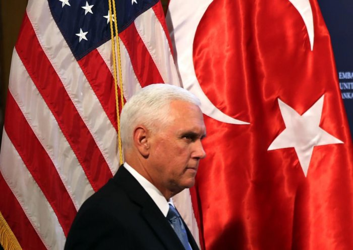 US Vice President, Mike pence (AFP Photo)