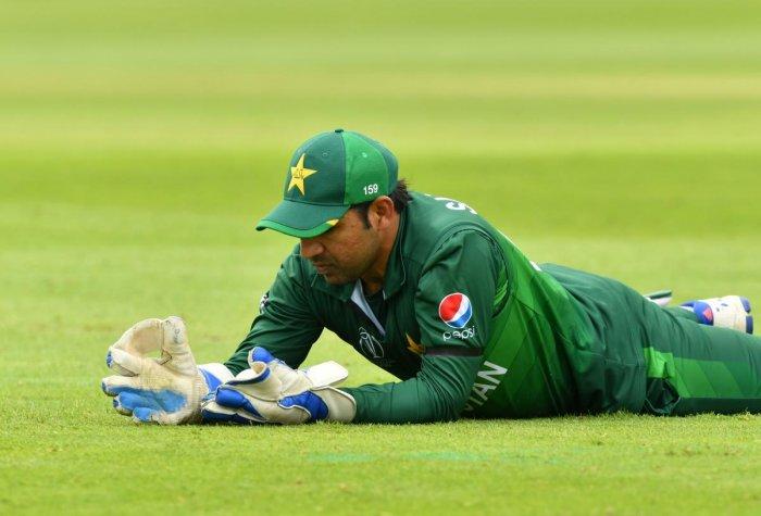 Sarfaraz Ahmed. Credit: AFP Photo