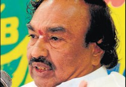 Quit BJP to attend KJP rally, Eshwarappa warns party leaders