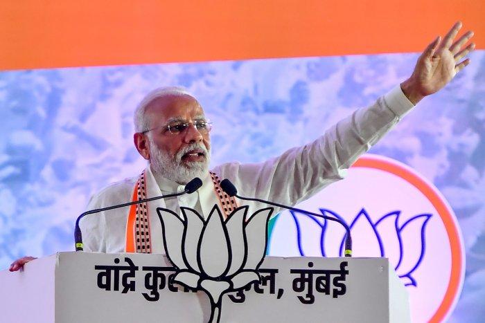 India's Prime Minister Narendra Modi. (AFP Photo)