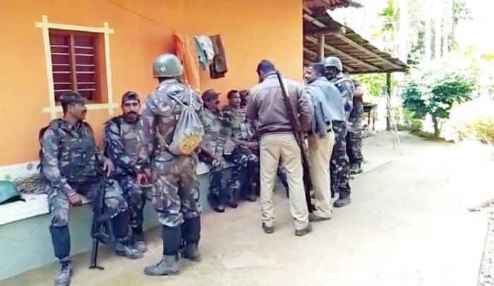 Three naxals visit homes in Kodagu forests; combing operations begin