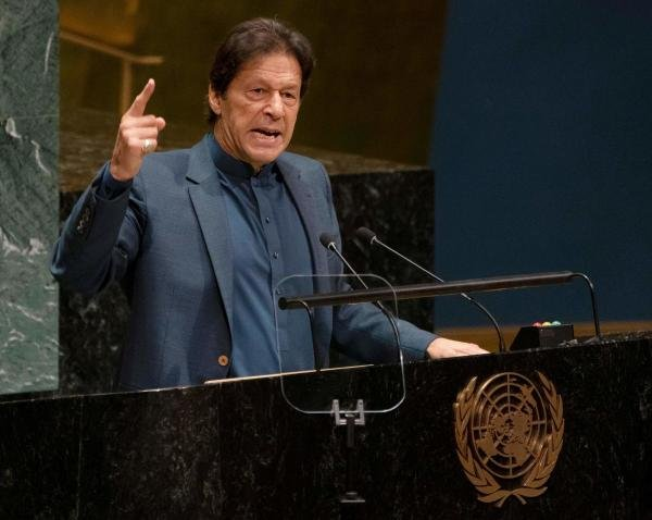 Pakistan Prime Minister Imran Khan. (PTI photo)