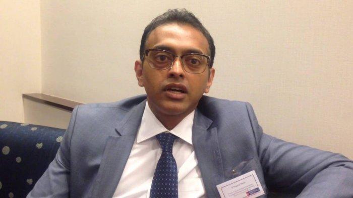 India's Deputy Permanent Representative to the UN Ambassador K Nagaraj Naidu. Photo credit: YouTube