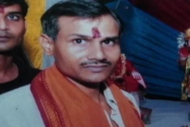 Hindu Mahasabha leader Kamlesh Tiwari. (Twitter/@MihirkJha)