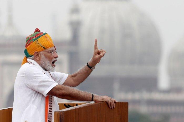 Indian Prime Minister Narendra Modi. Reuters photo