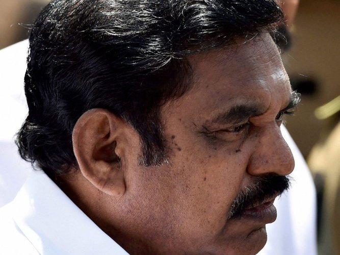 Tamil Nadu Chief Minister Edappadi K Palaniswami. PTI file photo