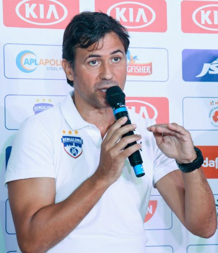 BFC coach Carles Cuadrat said the confidence showed in him by the side has given him stability. FILE PHOTO