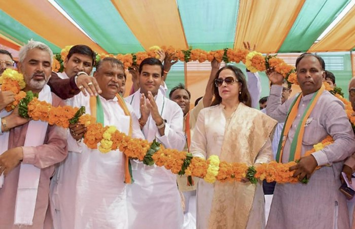 Country Is In Safe Hands Under Pm Modi Hema Malini Deccan Herald