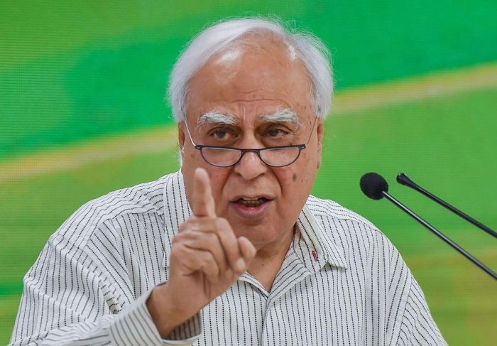 Senior Congress leader Kapil Sibal. (PTI File Photo)
