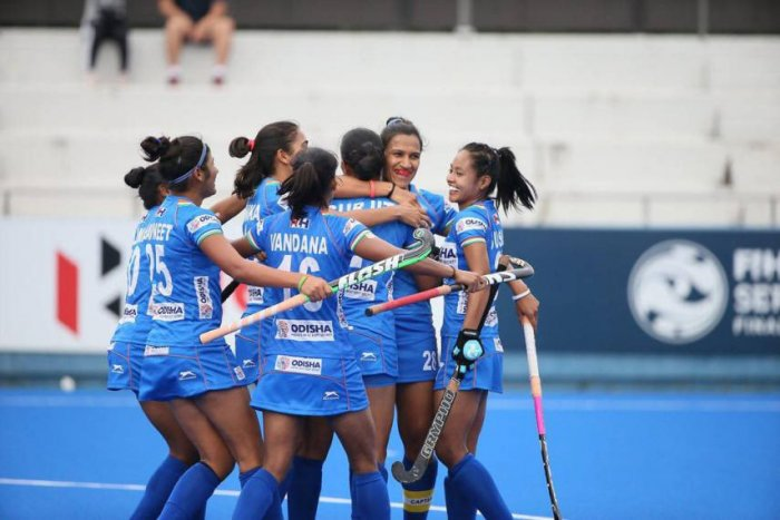 An 18-member women's team was announced here on Friday by chief coach Sjoerd Marijne, which saw the Dutchman retain the players who represented India in their preparatory tour of England earlier this month. Photo/Twitter